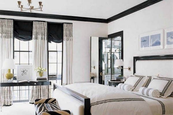 peindre les murs de votre maison en noir. Black Bedroom Furniture Sets. Home Design Ideas