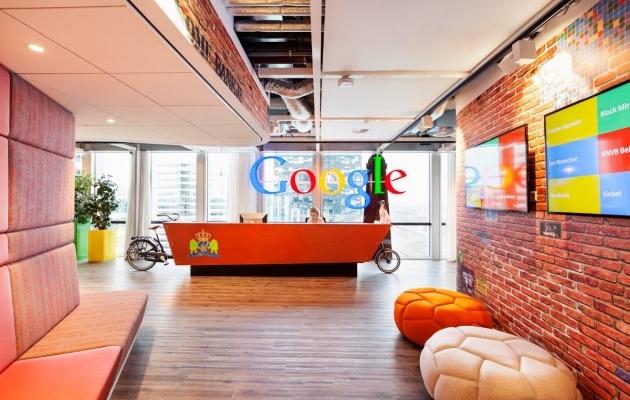 Les bureaux de google à amsterdam