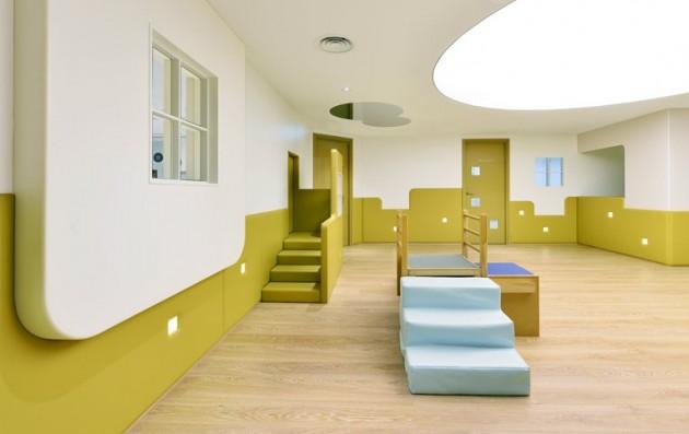 Classroom Design Kindergarten ~ Une crèche design réalisée par joey ho