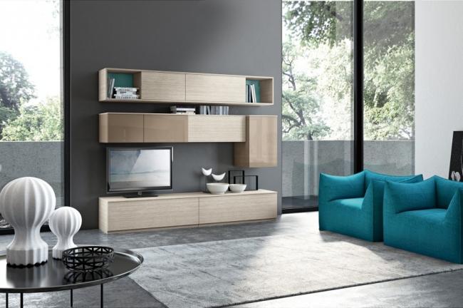 Id es pour d corer un salon avec des meubles de rangement for Idee pour decorer un salon