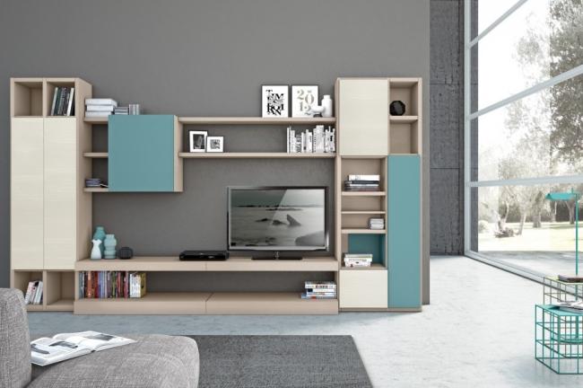 Id es pour d corer un salon avec des meubles de rangement for Colombini casa