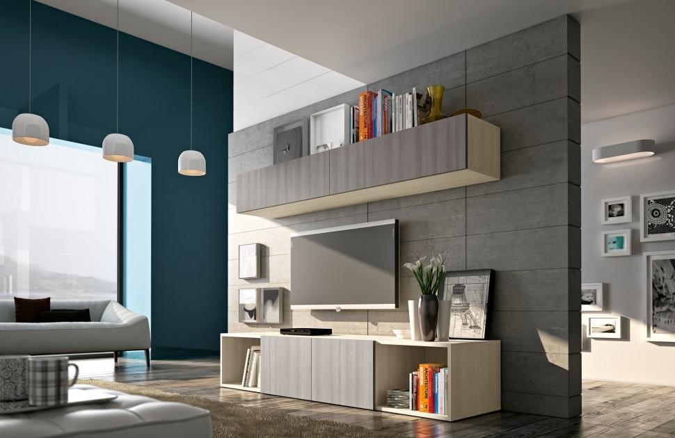 meuble rangement mural colombini casa 30. Black Bedroom Furniture Sets. Home Design Ideas