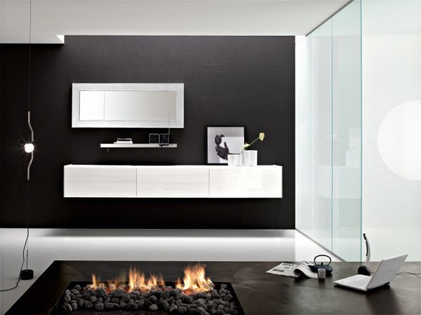 salle de bain contemporaine 04. Black Bedroom Furniture Sets. Home Design Ideas