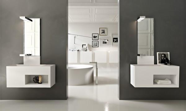 salle de bain contemporaine 25. Black Bedroom Furniture Sets. Home Design Ideas