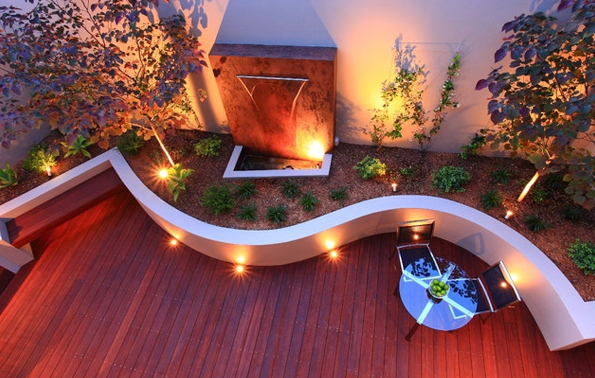 spots exterieur encastrables terrasse. Black Bedroom Furniture Sets. Home Design Ideas