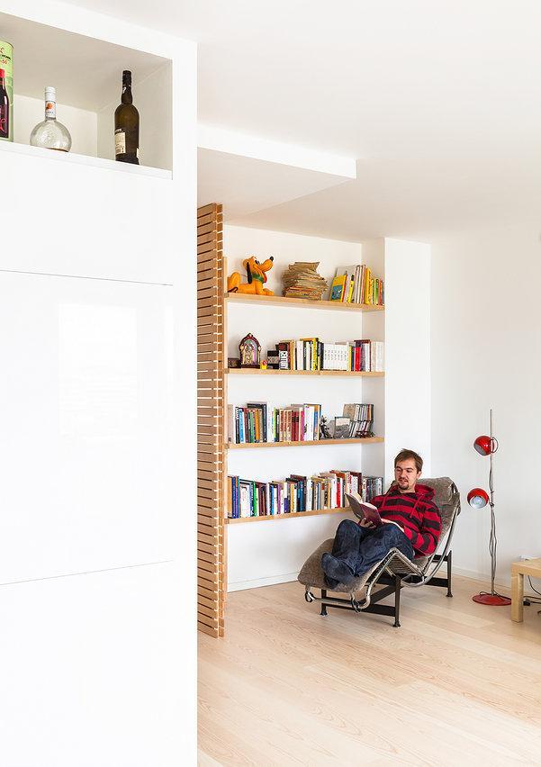 R novation d 39 un petit appartement de 65 m tres carr s for Idee renovation appartement ancien