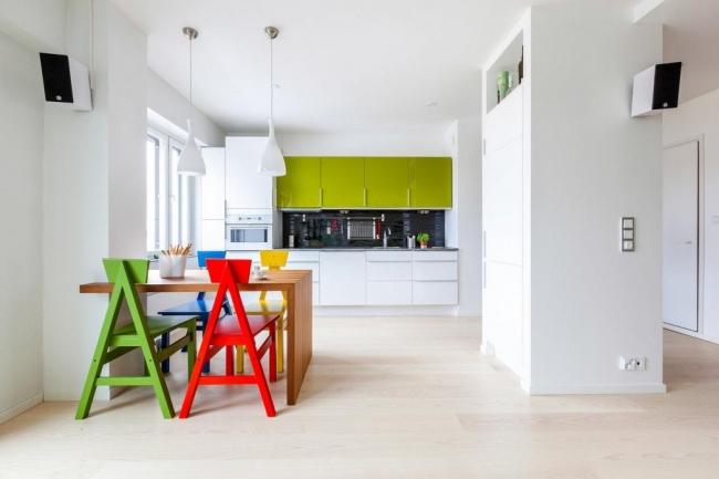 r novation d 39 un petit appartement de 65 m tres carr s. Black Bedroom Furniture Sets. Home Design Ideas