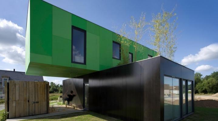 Les 22 plus belles maisons faites avec des containers de stockage