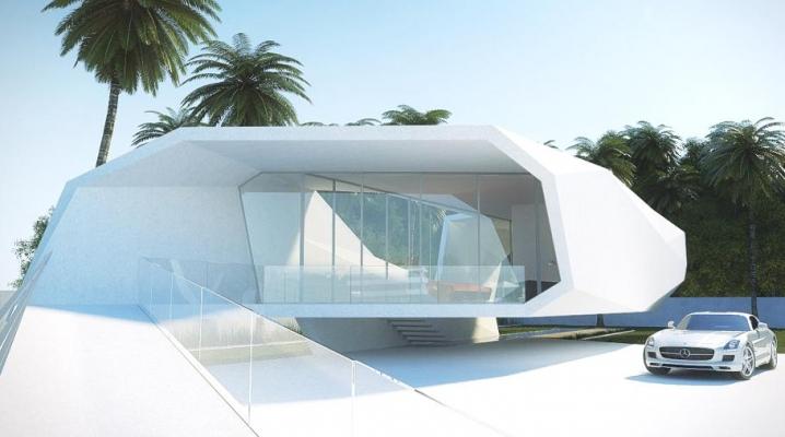 maison futuriste en forme d 39 onde de gunes atakan peksen. Black Bedroom Furniture Sets. Home Design Ideas