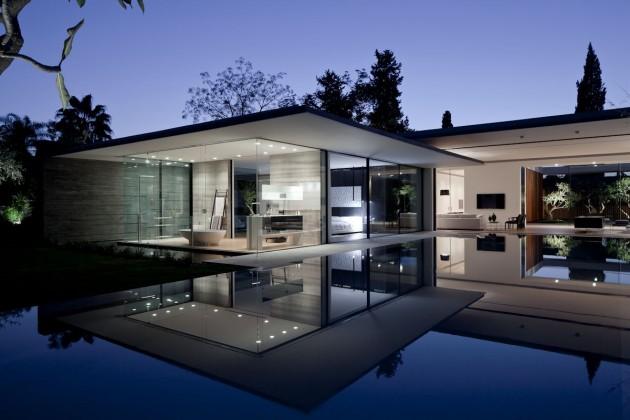 Maison design flottante de pitsou kedem architects for Maison design