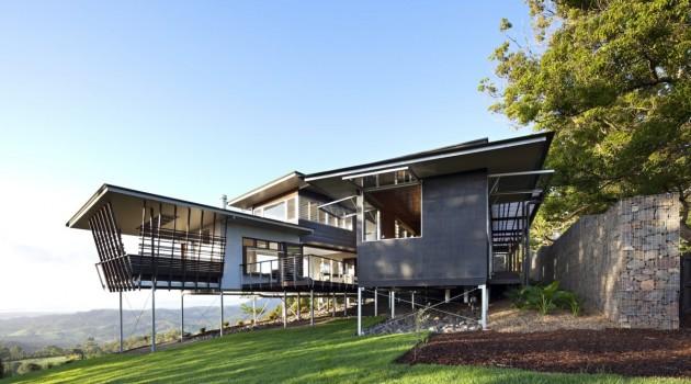 maison sur pilotis bark design architects. Black Bedroom Furniture Sets. Home Design Ideas