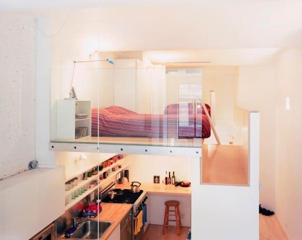 optimisation espace appartement 10. Black Bedroom Furniture Sets. Home Design Ideas