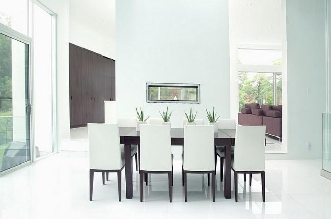 Id es d co de salles manger design et minimalistes for Foto minimaliste
