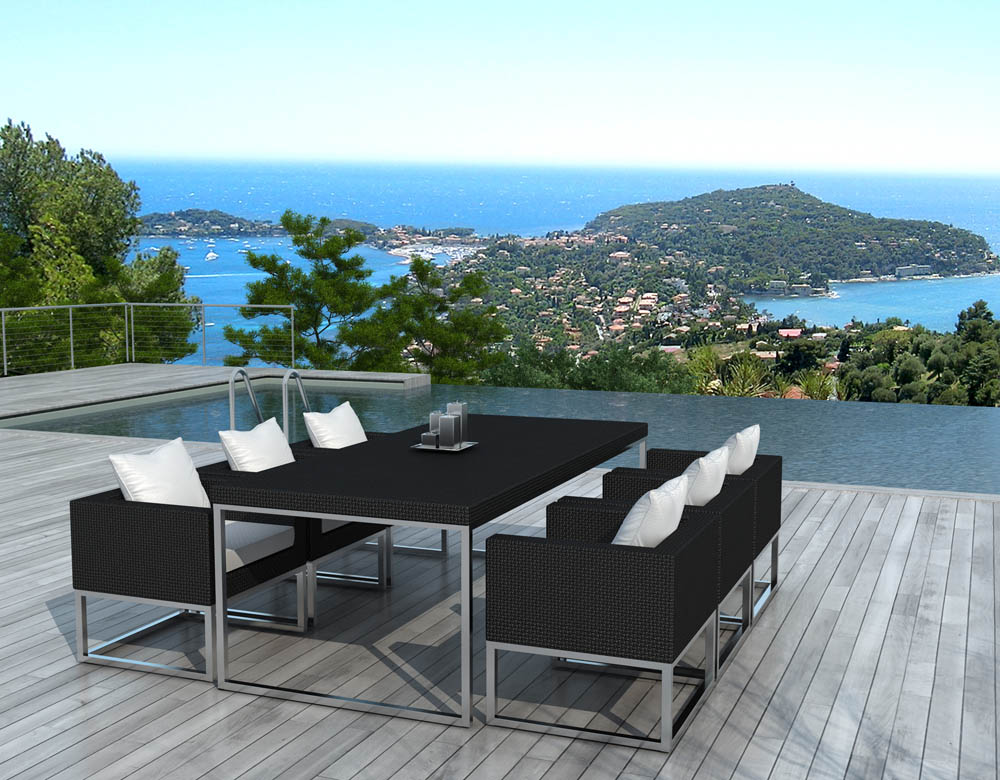 Id es d co tables de jardin terrasses salons de jardin for Meubles de terrasse design
