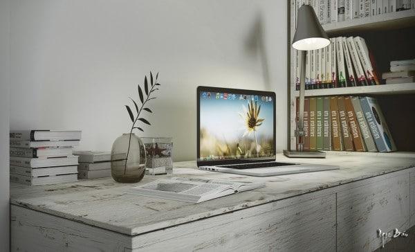 bureau bois brut blanc. Black Bedroom Furniture Sets. Home Design Ideas