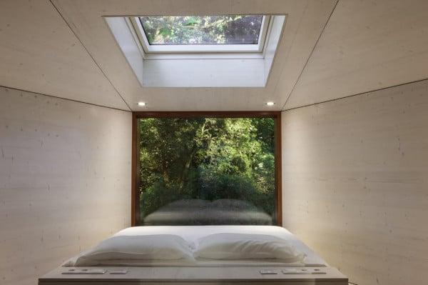 maisons cologiques modulaires dans les bois. Black Bedroom Furniture Sets. Home Design Ideas
