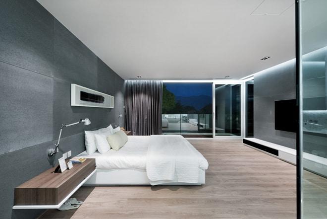 Aménagement et décoration d\'une Maison Design en Split-Level