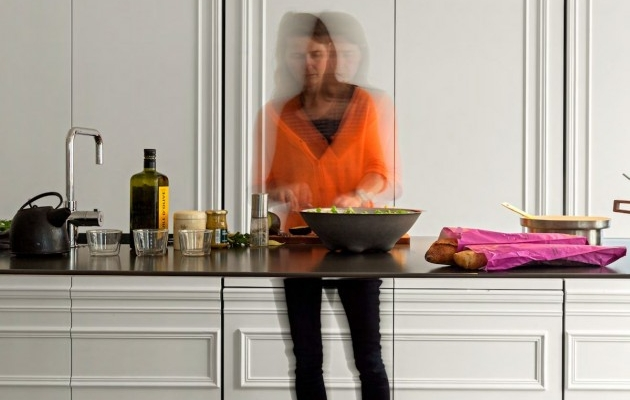 Ilot de cuisine design invisible - Cuisine invisible ...