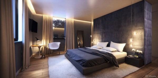 Decoration chambre coucher feutre for Decor de chambre a coucher