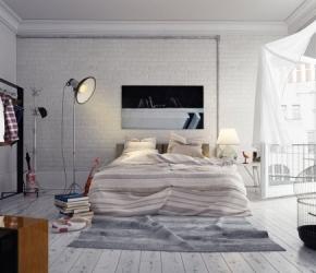 decoration-chambre-coucher-loft