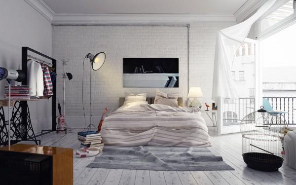 Parfait Decoration Chambre Coucher Loft