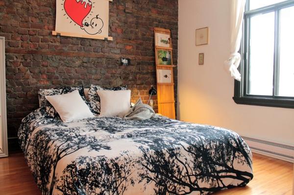 decoration murs briques 21. Black Bedroom Furniture Sets. Home Design Ideas