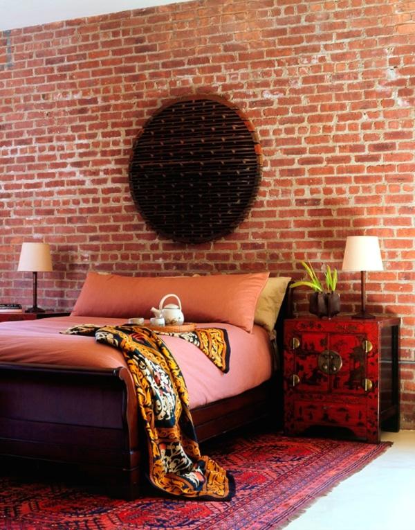 decoration murs briques 23. Black Bedroom Furniture Sets. Home Design Ideas