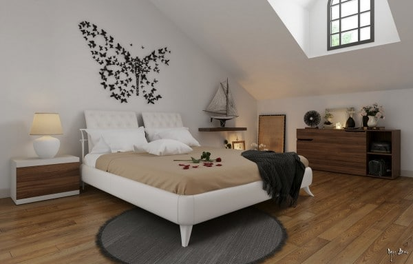 Idee deco chambre sobre for Idee deco maison design