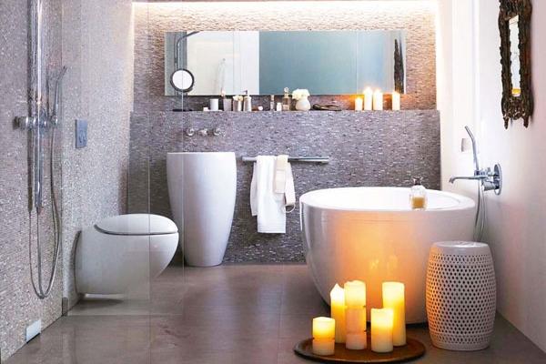 30 Idees Pour Decorer Et Amenager Une Petite Salle De Bain