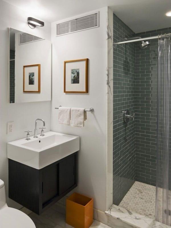 30 idées pour décorer et aménager une petite salle de bain