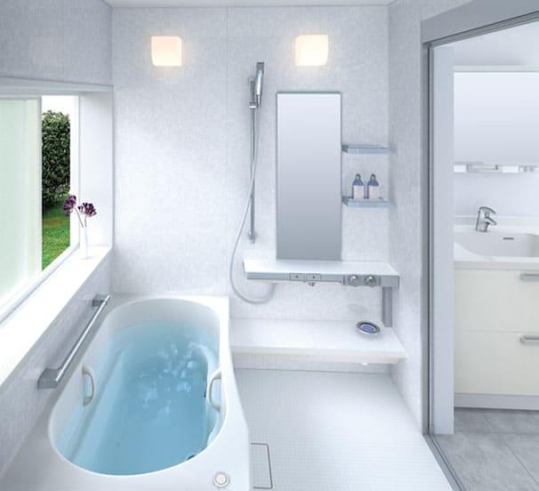 Idee deco salle de bain 27 for Decorer une petite salle de bain