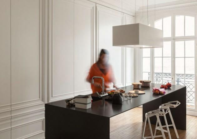 ilot de cuisine design invisible. Black Bedroom Furniture Sets. Home Design Ideas