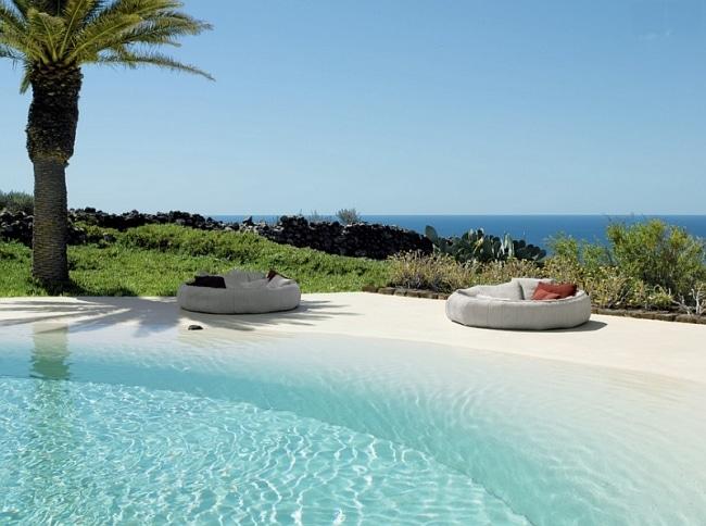 40 id es de lits d 39 ext rieur et de salons de jardin. Black Bedroom Furniture Sets. Home Design Ideas