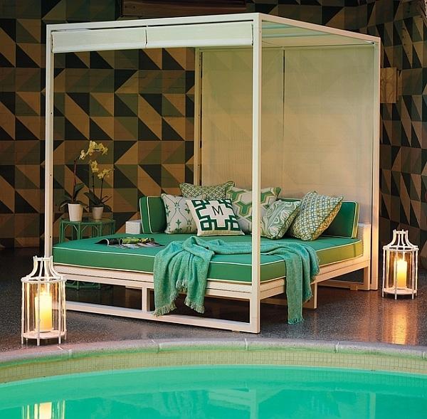 40 idées de lits d'extérieur et de salons de jardin on Belham Living Lilianna Outdoor Daybed id=88458