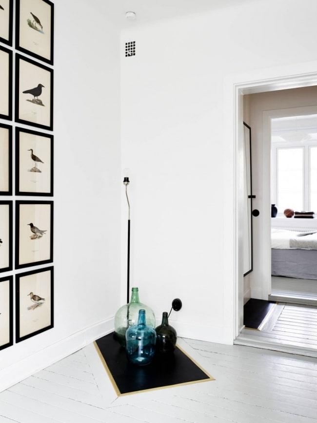 R novation et d 39 un appartement avec un design scandinave for Objet deco appartement