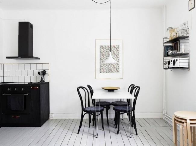 R novation et d 39 un appartement avec un design scandinave - Appartement design scandinave emmahos ...