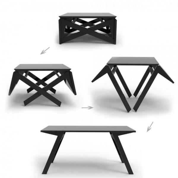 30 Idees De Tables A Manger Extensibles Design