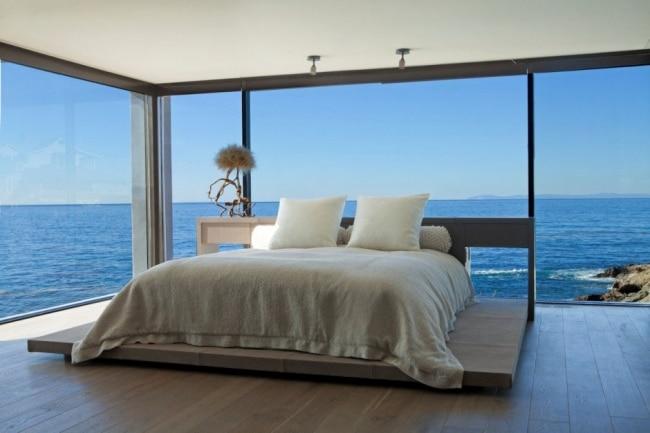 30 maisons modernes avec des grandes baies vitr es for Master arredamento interni