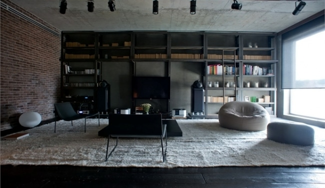 d coration style industriel loft id es d co loft. Black Bedroom Furniture Sets. Home Design Ideas