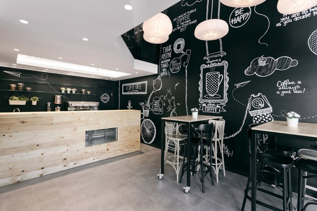 Inspiration d co du caf stock coffee de arhitektura budjevac for Dep design interieur