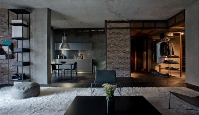 D coration style industriel loft id es d co loft for Deco maison style industriel