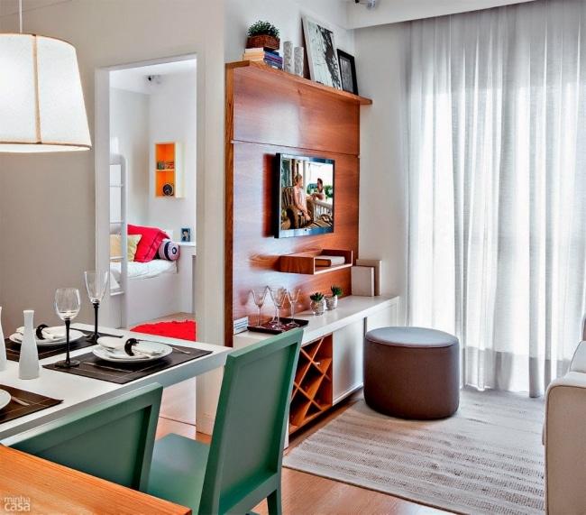 d corer et am nager un petit appartement de 3 pi ces. Black Bedroom Furniture Sets. Home Design Ideas