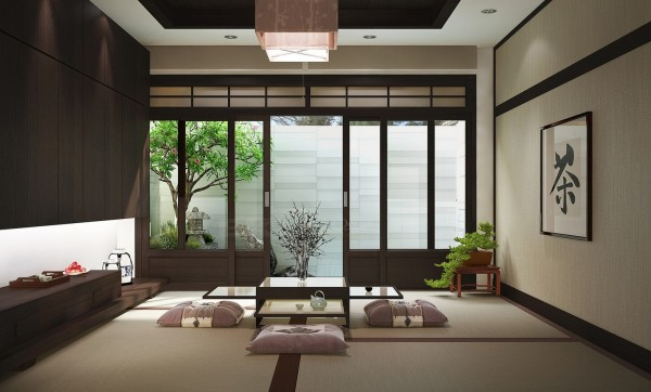decoration,salon,japonais