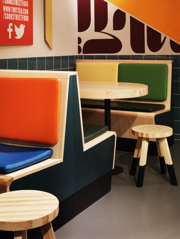 Idées décoration restaurant sook fast food concept