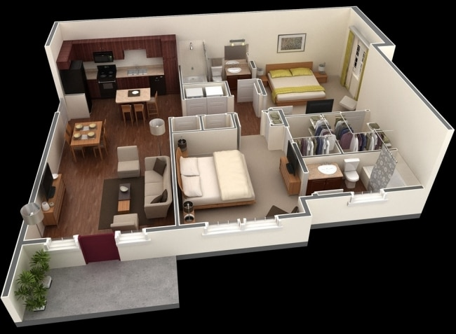 idee-plan3D-appartement-2chambres-13