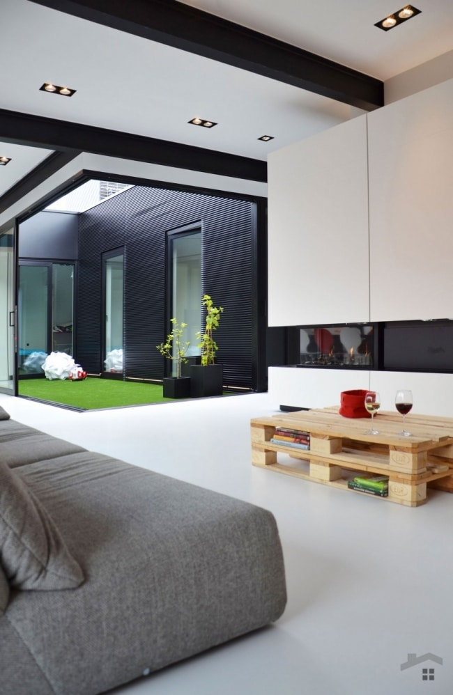 Jardin interieur loft for Decoration jardin interieur