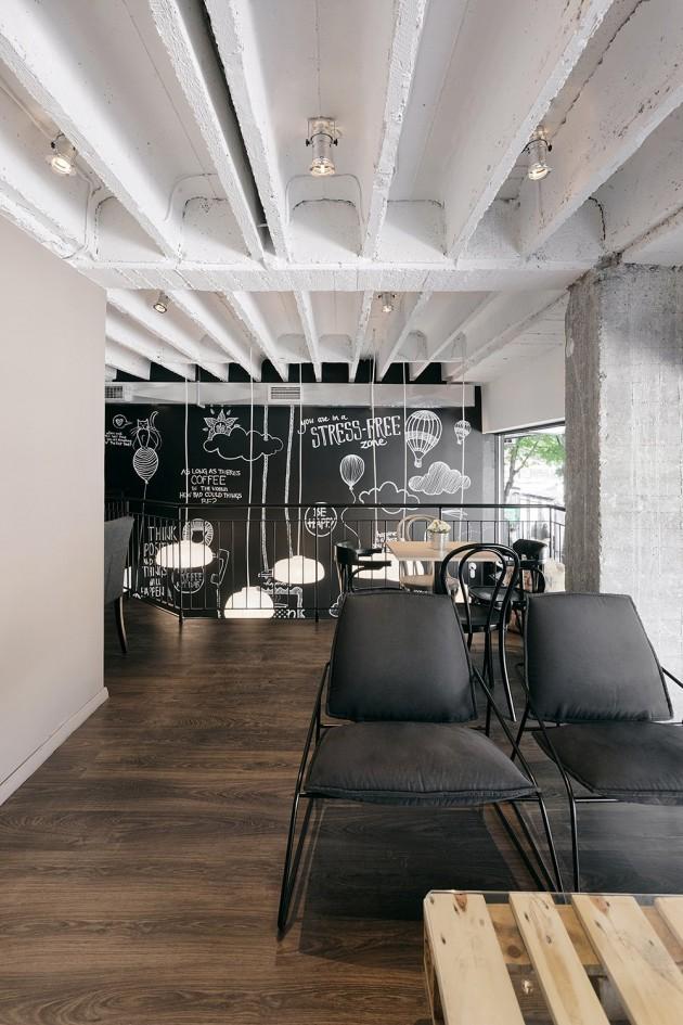 mur tableau noir. Black Bedroom Furniture Sets. Home Design Ideas