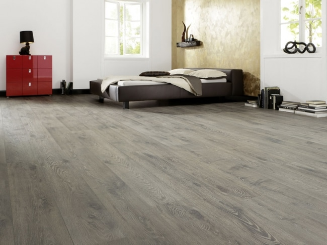 parquet stratifie gris. Black Bedroom Furniture Sets. Home Design Ideas