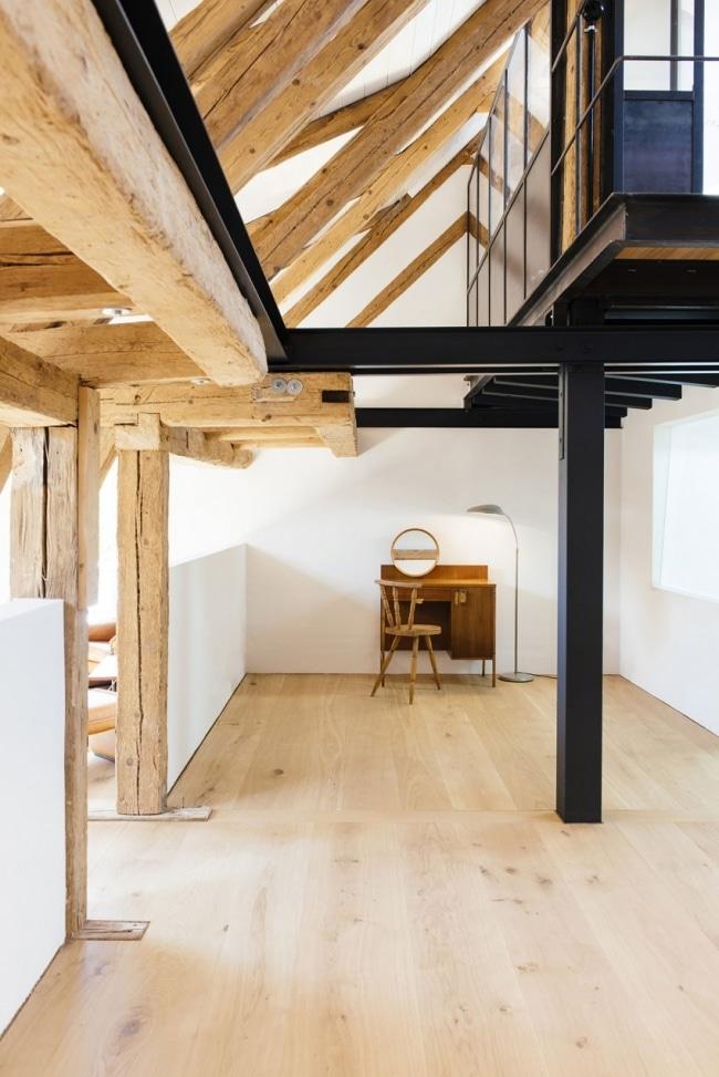 id es de r novation et d 39 am nagement d 39 une ancienne ferme. Black Bedroom Furniture Sets. Home Design Ideas