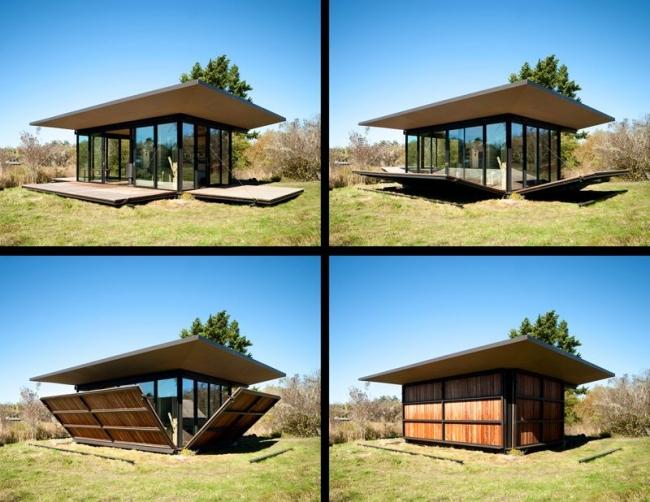s lection des plus belles cabanes design et contemporaines. Black Bedroom Furniture Sets. Home Design Ideas